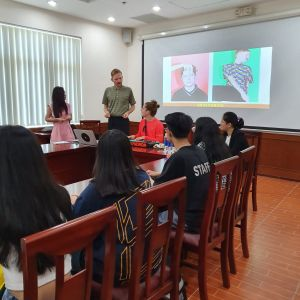 AB Syndrom bei dem Workshop an der Uni
