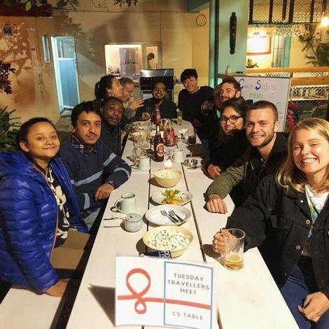 Die Couchsurfing Traveller Meet-ups im @hostel.solo.travel.nepal sind zu einem…