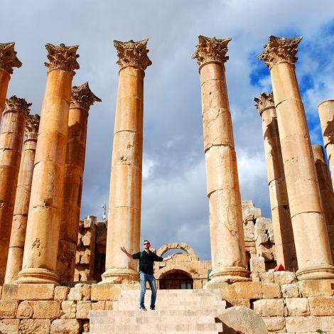 Römer in der Wüste - Jerash…