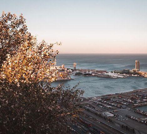 Hafen Barcelona …
