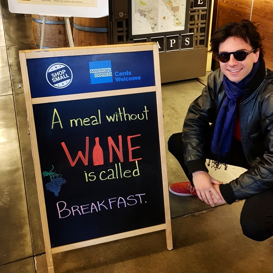 Because breakfast is reserved for champagne!…