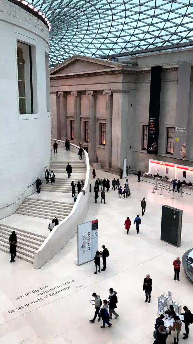 Ich bin immer noch so begeistert, dass so viele Museen in London kostenlos sind…