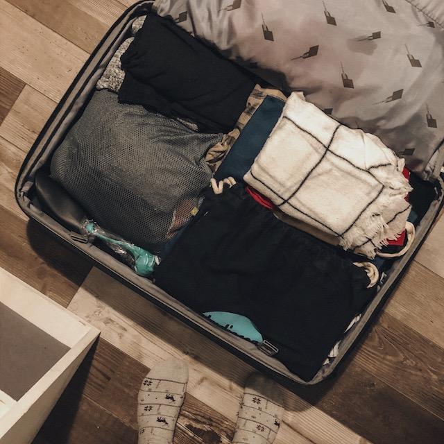 Es ist wieder Kofferpacken angesagt.