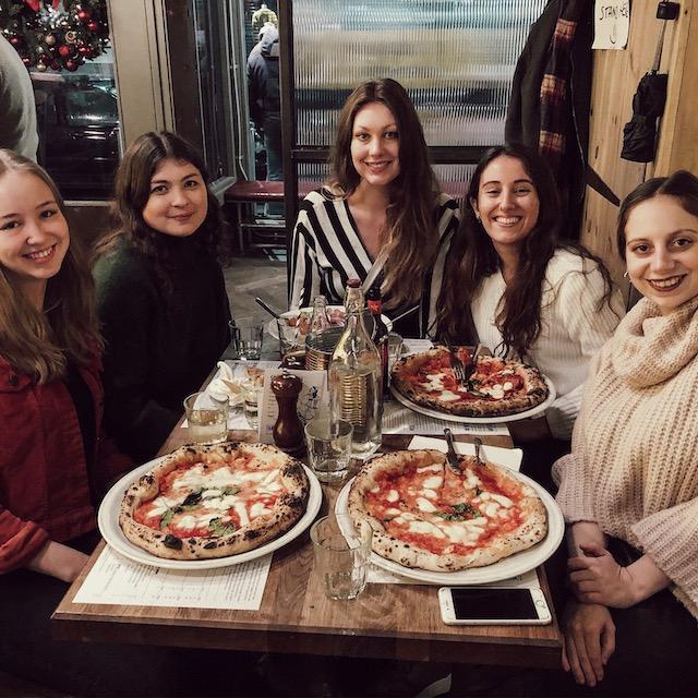 Meine Erasmus-Mädels und ich