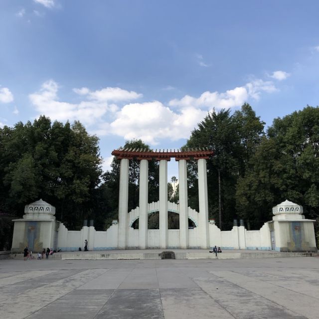 Parque España unter der Woche an einem Vormittag