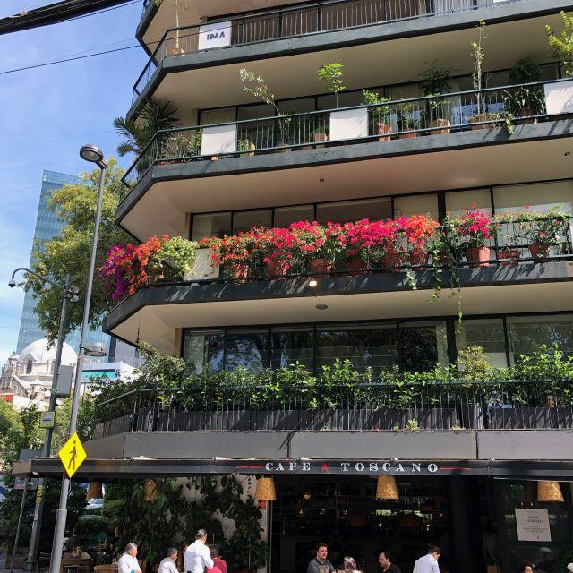 Ein schönes Wohnhaus in La Roma