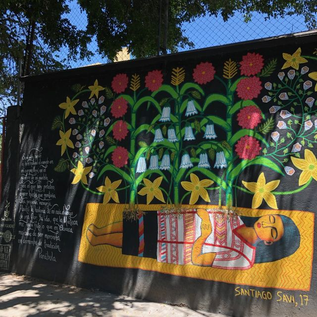 Street art in La Roma