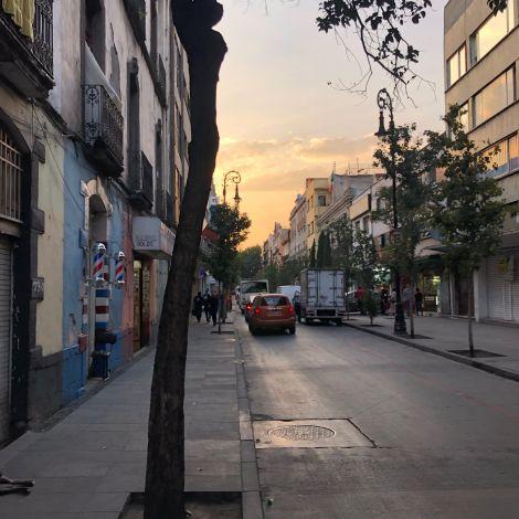 Straße im El Centro