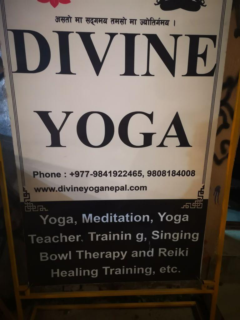 Meine erste Yoga Stunde in Kathmandu