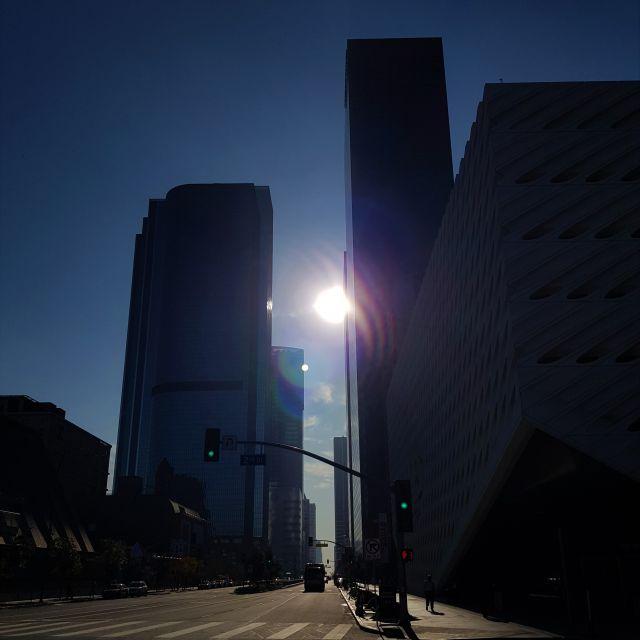 Wolkenkratzer auf der Grand Avenue