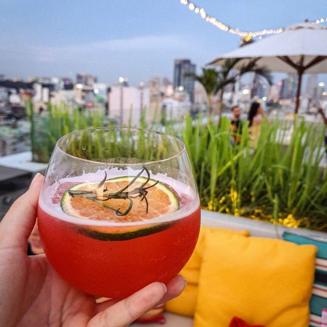 Die Drinks sind auch immer sehr lecker und kosten zur Happy Hour nur die Hälfte.