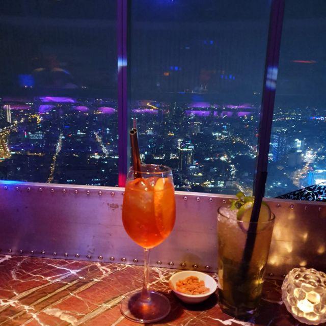 Die Aussicht aus der Bar im Bitexco Tower.