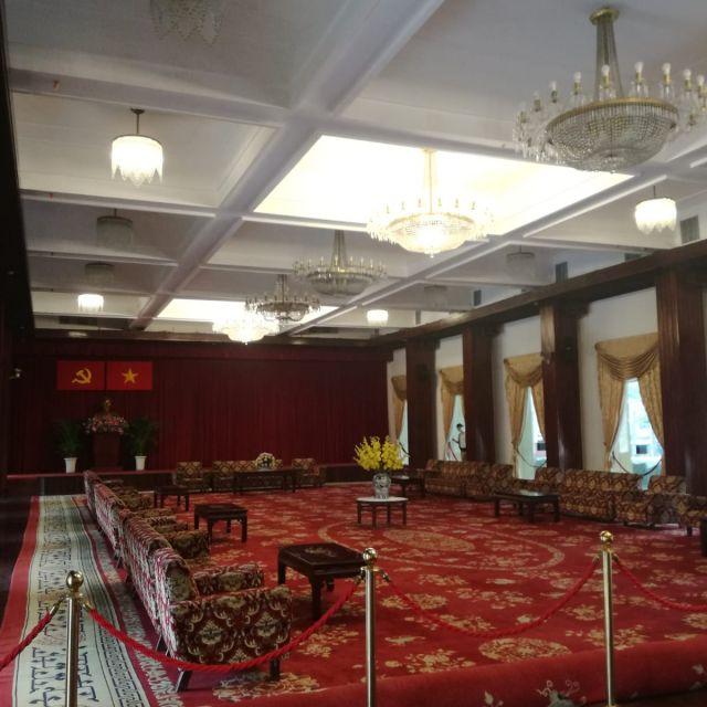 Einer der Innenräume im Palast.