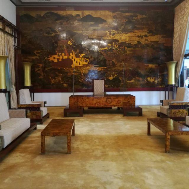 Einer der Räume im Palast.