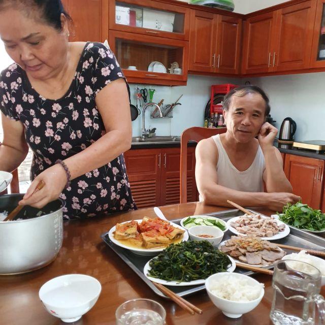 Hier war ich bei einer vietnamesischen Familie eingeladen. Es gab mein Lieblings-Tofugericht.