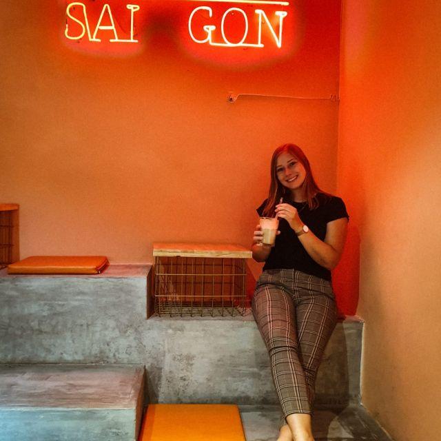 Ich denke mit einem Lächeln an meine Zeit in Saigon zurück.