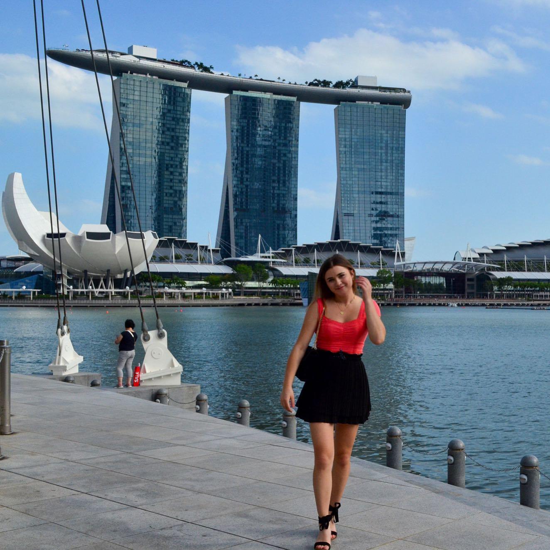 neuer Lebensabschnitt & zu Hause für die nächsten Monate: Singapur…