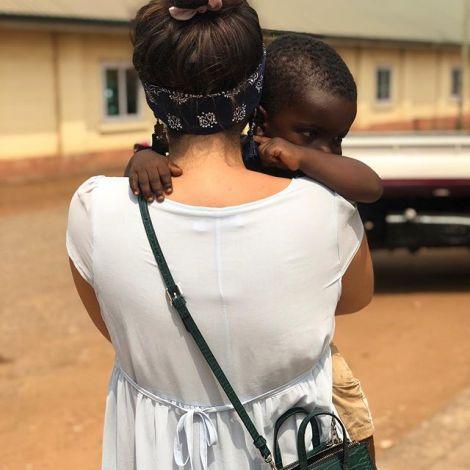 Weil ich babies liebe, immer und überall 🌸 #ghana #erlebees