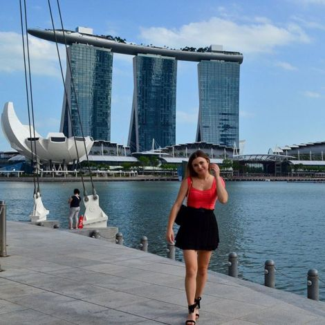 Umzug nach Singapur