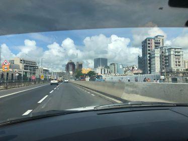 Auf dem Weg nach Port-Louis