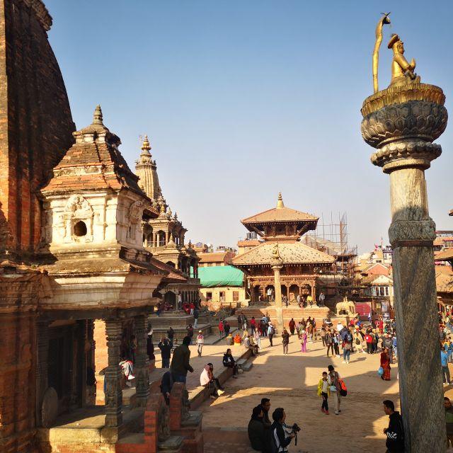 Mein neues Zuhause ist nicht weit entfernt vom Patan Durbar Square.