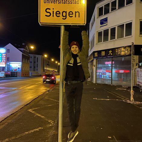 Zurück in Siegen