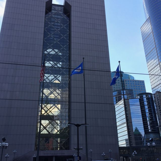 Hennepin County Government Center in Minneapolis