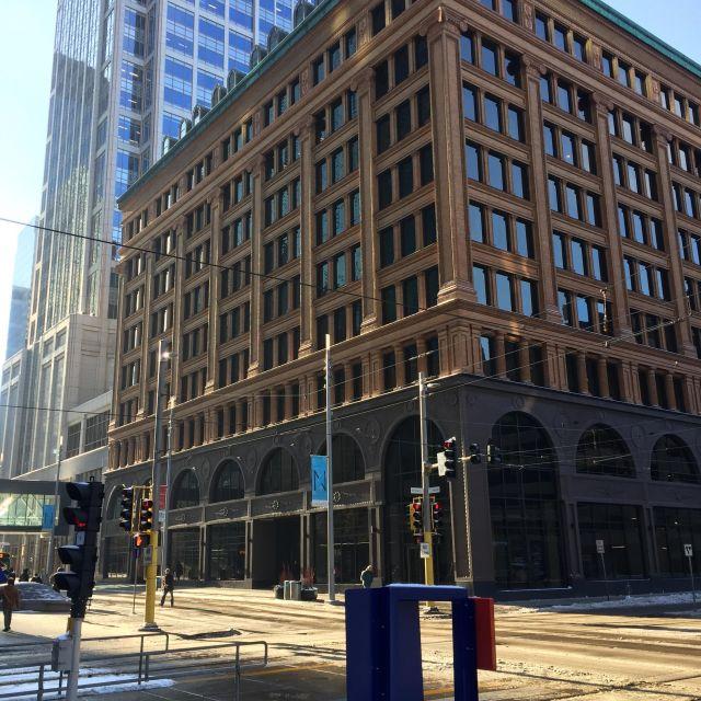 Straßenansicht in Minneapolis