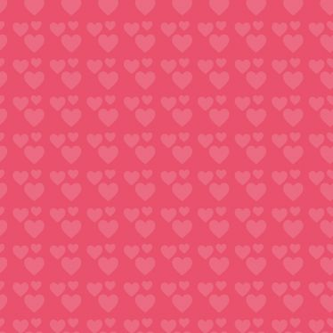 Eine Grafik mit vielen Herzen auf pinkfarbenem Hintergrund