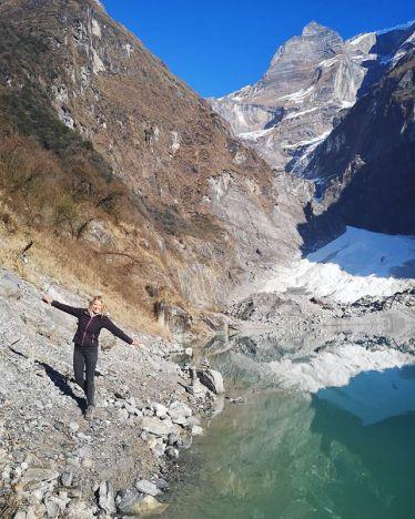 Und noch ein Foto vom Kapuche Lake! Um den See zu erreichen muss man (wenn man…