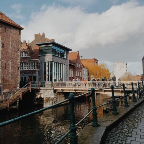 Kanal in Gent