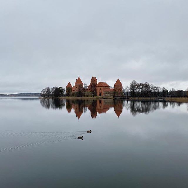 Trakai | Im Zuge der Welcome Week haben wir gestern die Wasserburg Trakai…