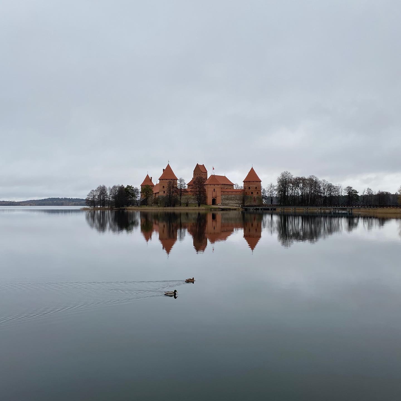 Trakai   Im Zuge der Welcome Week haben wir gestern die Wasserburg Trakai…