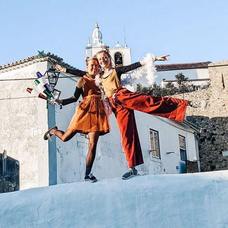 Gestern auf dem Carnaval von Torres Vedras - dem portugiesischsten Karneval…