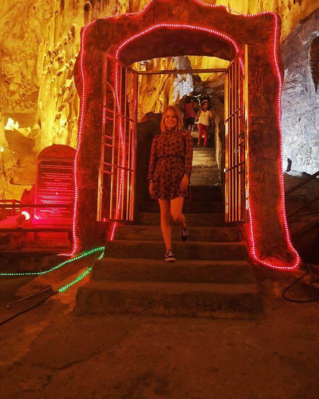 Heute habe ich die Batu Caves besucht, und besonders die kleinere Ramayana Cave…