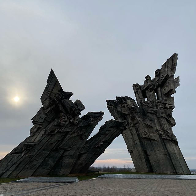 Denkmal für die im zweiten Weltkrieg ermordeten Juden bei der Festung XI…