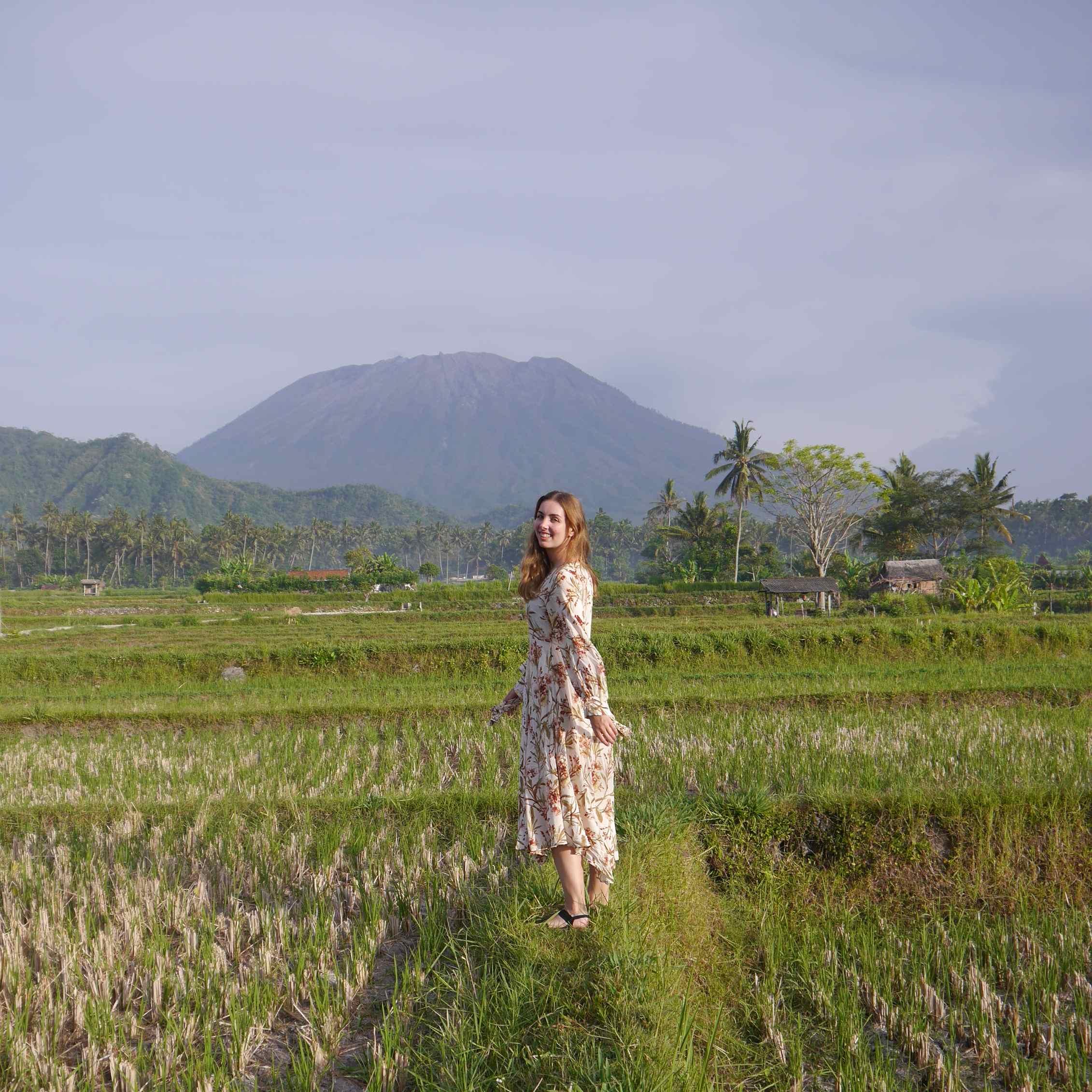 Der Agung Vulkan ist der größte Vulkan auf Bali.