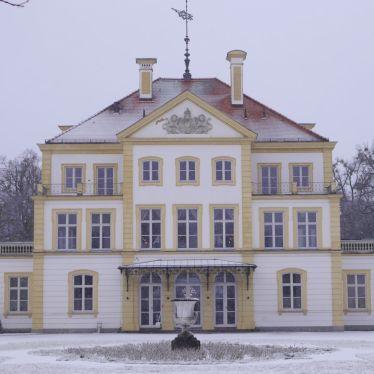 Das Schloss Fürstenried liegt am Rande der Stadt München