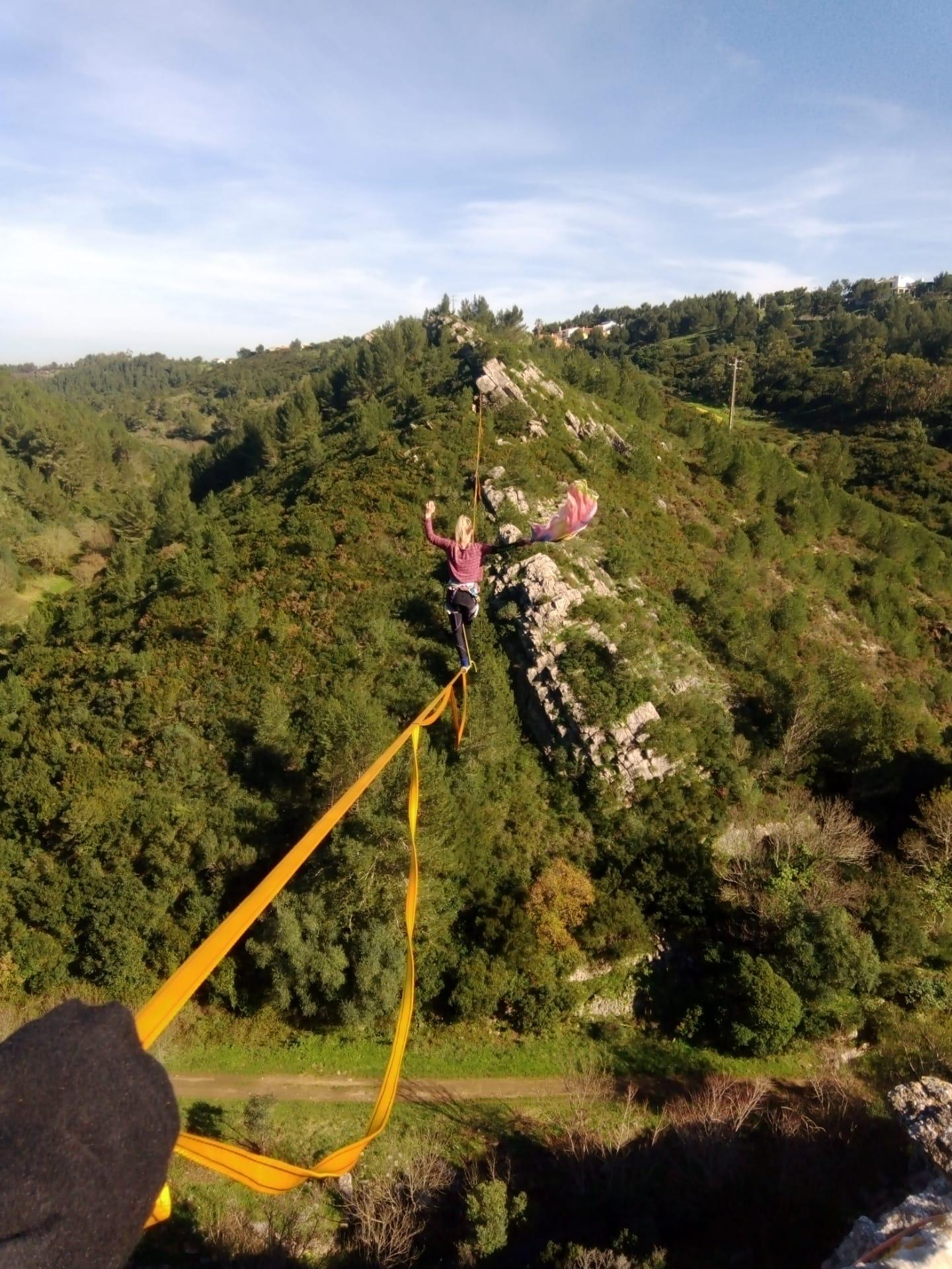 Highline-Trip Portugal: Immer fast am fliegen
