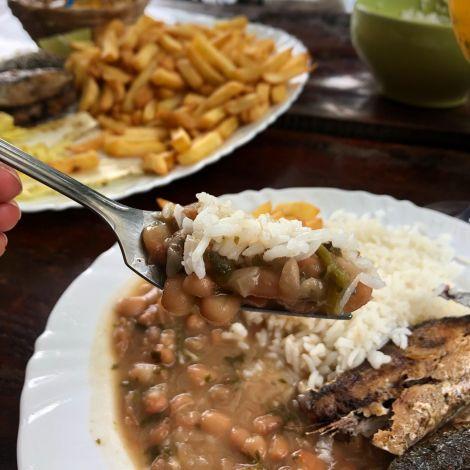 Arroz feijão 🍚 Ohne Reis mit Bohnen können Brasilianer nicht leben…
