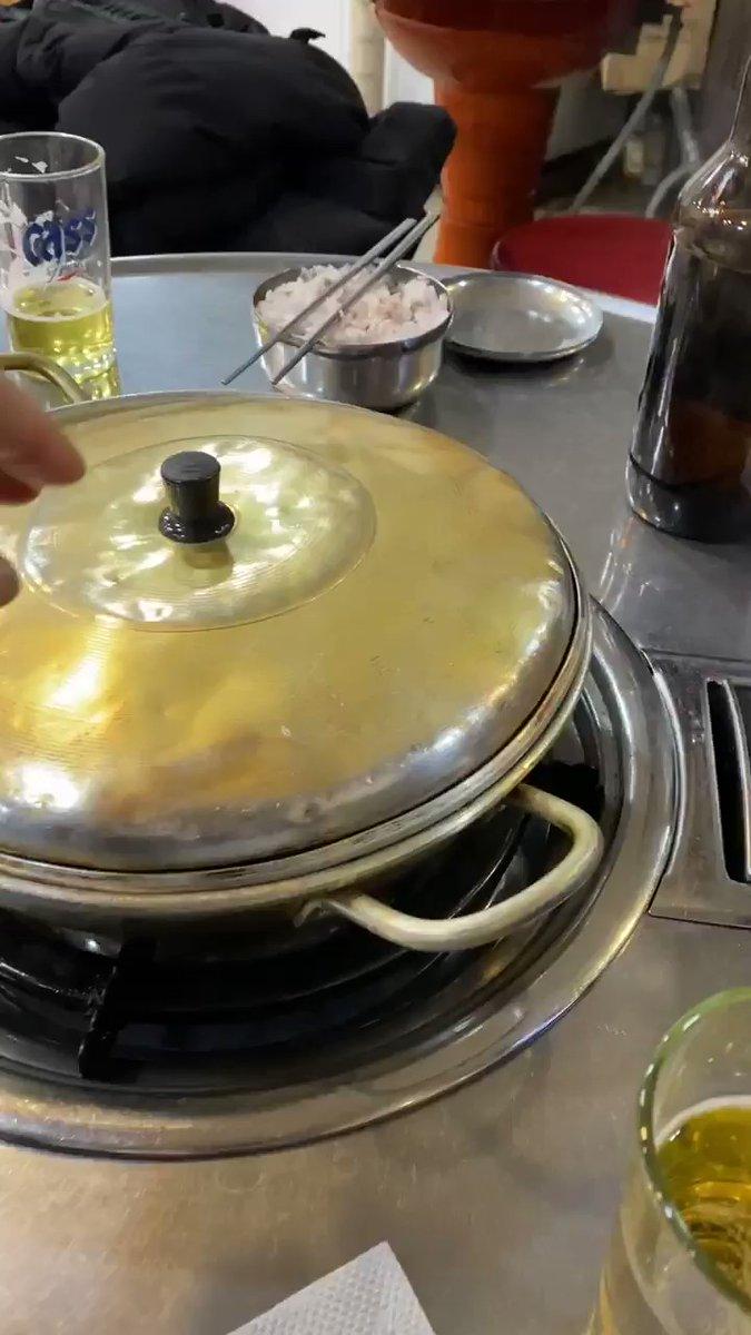 Für mich als Kimchi-Aficionado ein wahrer Gaumenschmaus: Kimchi Jjigae, ein…
