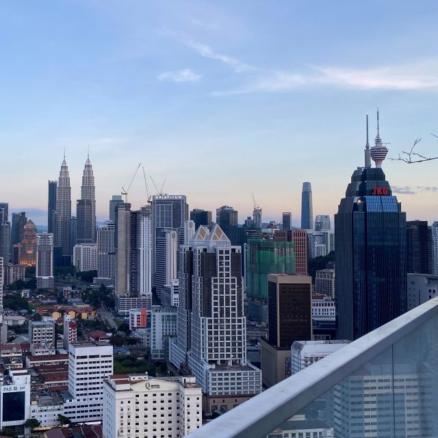 Skyline Kuala Lumpur Sonnenuntergang