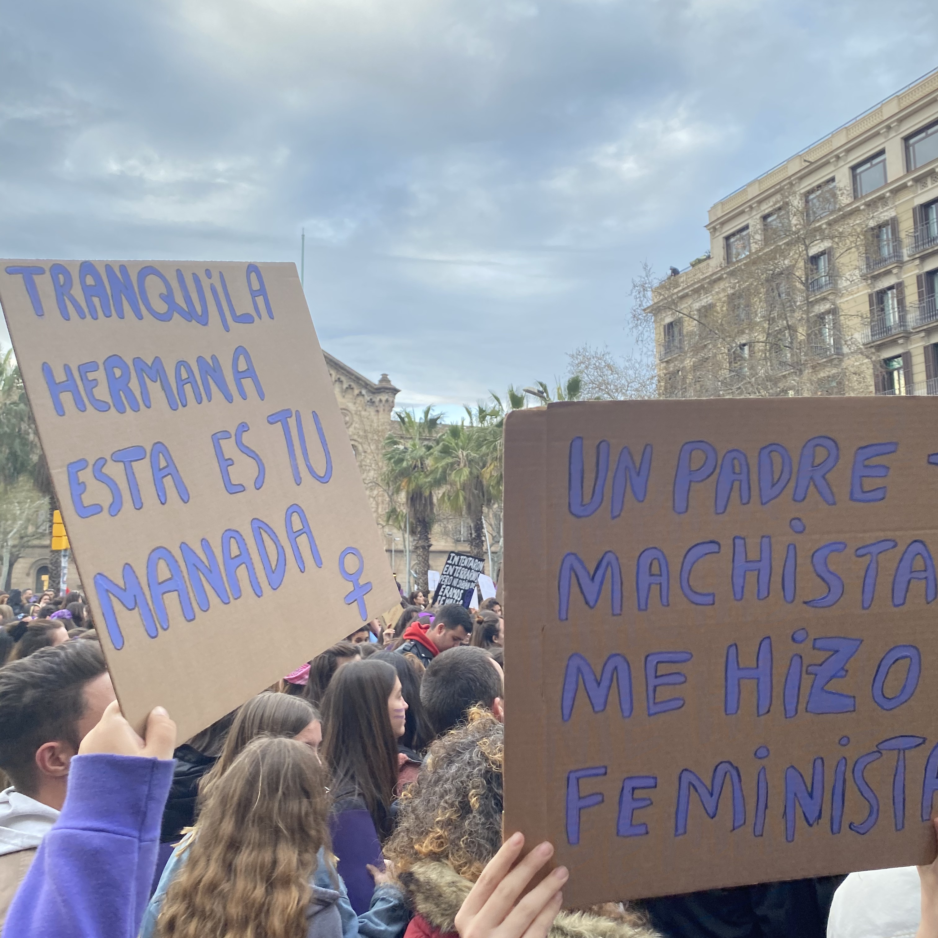 Frauenpower in Barcelona