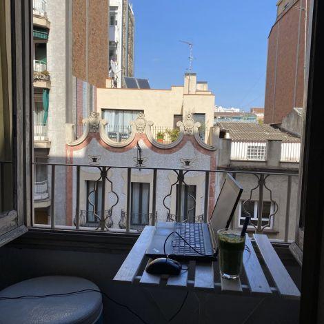 Wenn man das Pech hat in der gefühlt einzigen Wohnung in Barcelona zu leben…