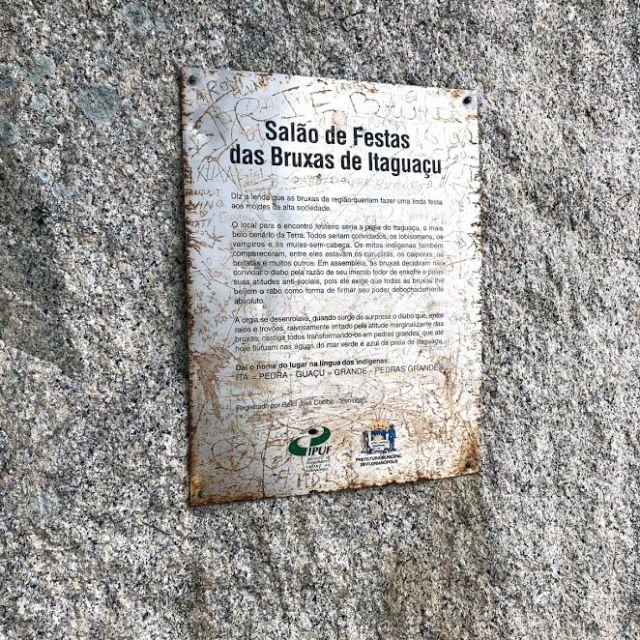 Die Sage der Hexenparty von Itaguaçu auf portugiesisch