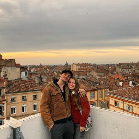 Über den Dächern von Toulouse 🌹🌞 Ein kleiner Geheimtipp: das Parkhaus…