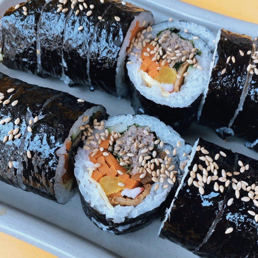 Kleiner Snack gefällig? Dann ist Gimbap (김밥) genau das Richtige. Die…