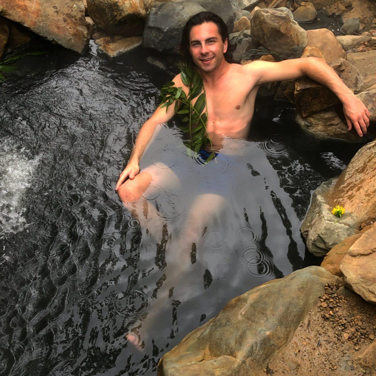 Achtung, heiß! #montecito #hotsprings #eucalyptus .…