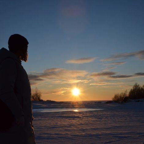Natur Finnaldn Meer Oulu