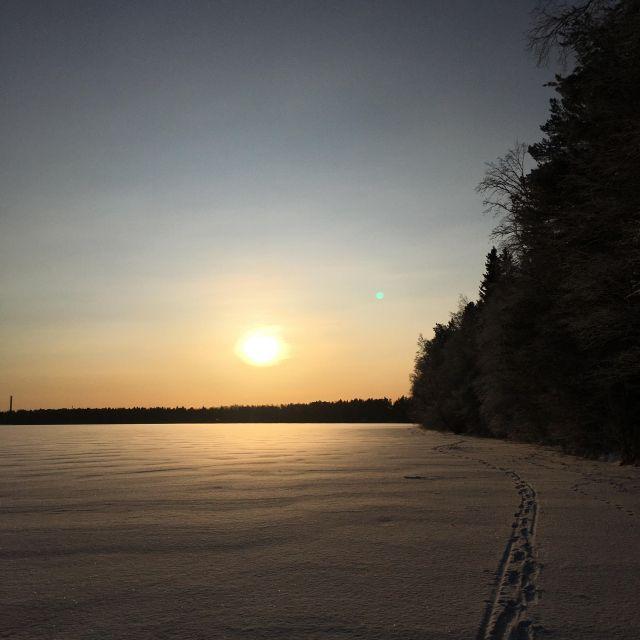 Oulu Finnland See